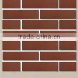 Lightweight insulating decoration wall fire brick