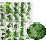 GNW FLV018 Hanging Wall Decoration Green Fabric Artificial Ivy Leaves Vines Wedding Decoration