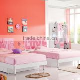 RD103 sweet girl cherry princess bedroom set 2015 alibaba new children kids colofurl cartoon furniture on sale in stock