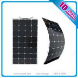 Hight Efficiency Semi Flexible Solar Panels 100wp Sunpower