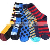 5 pairs a pack Hot selling Men rich cotton dress socks man funny sock men crew socks men socks