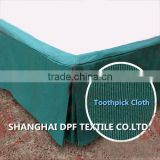 100% Polyester Fitted Bed Skirt