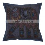 2016 New Printed Rajasthani Cut Work Cushion Cover