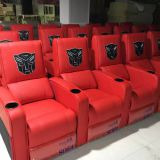 Wholesale leather recliner cinema sofa,hot sale comfortable cinema seats vip