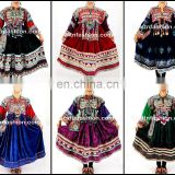 Vintage Banjara Kuchi Tribal Ethnic Clothes- vintage traditional Kutchi- Vintage Gypsy Afghani Handmade Kuchi Dress
