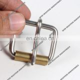 Brass ROLLER pin nickel free belt buckle