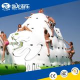 Commercial floating inflatable iceberg, water inflatable climbing mountain, inflatable iceberg water toy