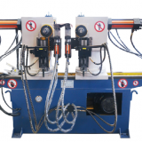 Hot sale ALD ASW-38-90°series double head hydraulic pipe/tube bending machine