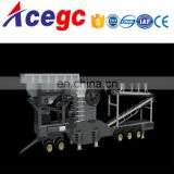 Mobile coarse crushing station machine for sale