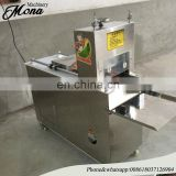 Frozen Beef Roll Slices Cutting Machine|Chilled Mutton Slices Chopping Machine|Freezing Meat Roll Pieces Cutter