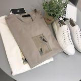 Men's fashion design new style T-shirt clothing from factory2019 fashion style sink cotton T-shirt