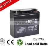 12V 17AH Portable Solar Lighting System Battery