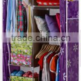 Korea style laster foldable wardrobe door design portable baby wardrobe