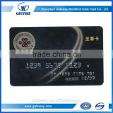Custom plastic busienss card,QR code key tag, China Manufacturer Vip Business Cards