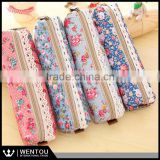 Fashion Floral Lace Personalized Retro Pencil Case