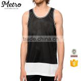 2016 Fashion Breathable Sportswear Mesh Basketball Tank Top