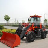 High quality on alibaba ZL28F mini tractor loader with snow blower for sale with ce low price