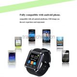 wholesale MTK6260 Original u8 bluetooth smart wrist watch with 1.44 inch touch screen, andorid smart watch with camera                                                                         Quality Choice