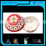 Disposable custom design paper cake cups greaseproof paper baking cups                                                                         Quality Choice