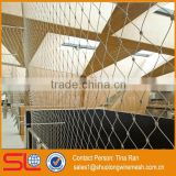 7x7 structure 1.6mmx60x104mm Ferruled & Knotted type Flexible metal mesh fabric