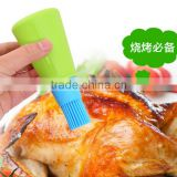 Hot Sale Food Grade Silicone Basting Brushes & oil bottle Brush,Baking and Grilling, Heat-Resistant Cooking Utensils