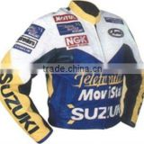 New racing Leather motorcycle Jackets/motorbike leather racing jackets/leather track jackets/white bull.co