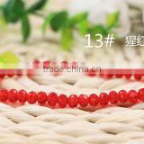 Red2mm to 12mm 64 Colors Stocks Wholesales Factory Price Loose Crystal Facted Roundelles Glass Beads for Jewelry Making Cheapest