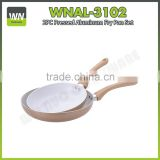 Best quality and price divider for frying pan non-stick/ceramic pans forged aluminium fry pan sets