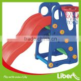 2014 Best Selling Plastic Colorful Kids Outdoor Playground Equipment Toy Slide LE.HT.008                                                                         Quality Choice