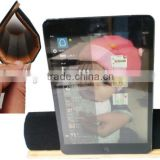 Portable&Flexible smart cover bamboo case For ipad 2,3,4