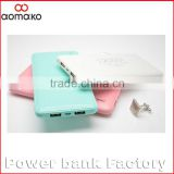 10000mAh portable Cellphone battery charger, power bank for mobile phone/Smart watch/Tablet PC Camera gift power bank