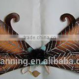 Halloween wing / Halloween wing with glitter spider /party accessory spider wing