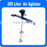 1/8HP or 1/4HP Air Agitator for 200 Liter 50 gallon Paint tank