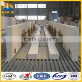 Manufacture fused cast refractory AZS bricks for glass blast furnace refractory brick