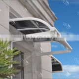 Alumium window awning/patio canopy with new design in 2015