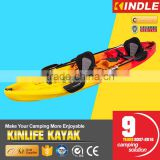 3.7M LLDPE 3 person sit on top China kayak