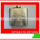 New style customized black hip flask