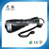 IP68 led waterproof diving powerful led flashlight aluminum torch light