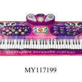61 keys keyboard mat with microphone music instrument for kids baby musical piano