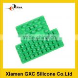 silicone material parts keyboard of computer