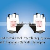 Custom China brand pro tour uci bike team Half Finger Cycling gloves high quality shockproof sports MTB bike gloves Size m-XL