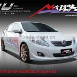 PU body kits for TOYOTA-07-08-COROLLA-Style DS