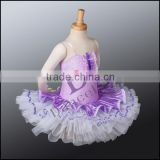 CP034 2014 Purple professional ballet tutu dress ballet stage dance costume tutus for girls classical tutu kids ballet costumes