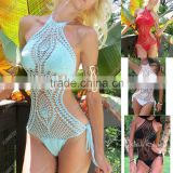 Strapped Colorful Sexy Micro Bikini Crochet Clothing                                                                         Quality Choice