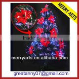 alibaba express wholesale 6ft (180CM) outdoor giant led Fiber optic spiral artificial christmas tree for sale