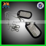 Supply Diecasting Ball chain Metal Dog tag