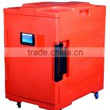 Mobile food warm cabinet with wheels hot food storage container (with FDA,CE,SGS ISO9001)