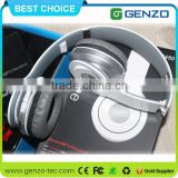 Wireless stereo bluetooth noise cancelling headphones with 3.5mm audio plug