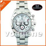 New Car Stainless Steel Swiss movement watch