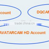 Sell low price for one year dqiptv account and dqcam account for all qsat decoders q11g/q11g+/q13g/q13g+/q15g/q16